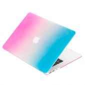 Чехол Upex Rainbow для Macbook Air 13.3 Pink-Light Blue