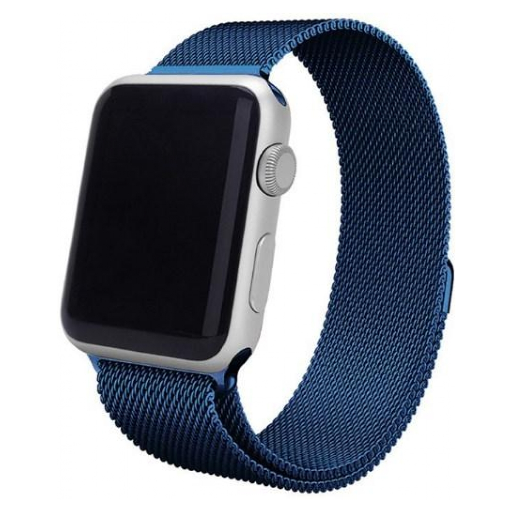 Ремешок Milanese Loop Blue для Apple Watch 42mm