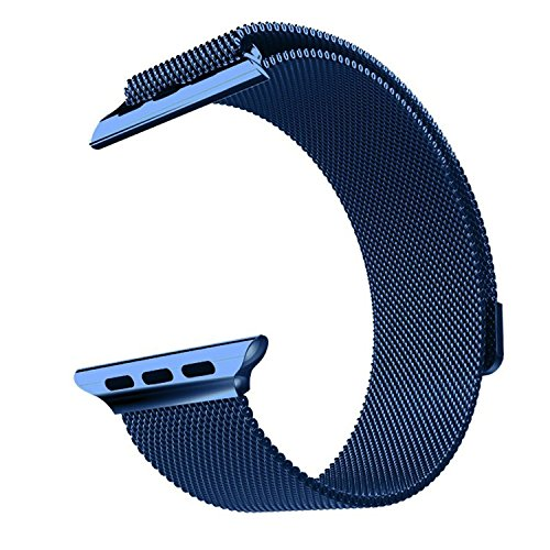 Ремешок Milanese Loop Blue для Apple Watch 38mm