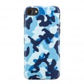 Чехол для iPhone 6 Plus/6s Plus Camouflage Blue Woodland