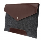 Чехол-конверт Upex Cuero для MacBook Air 11 Gray-Brown