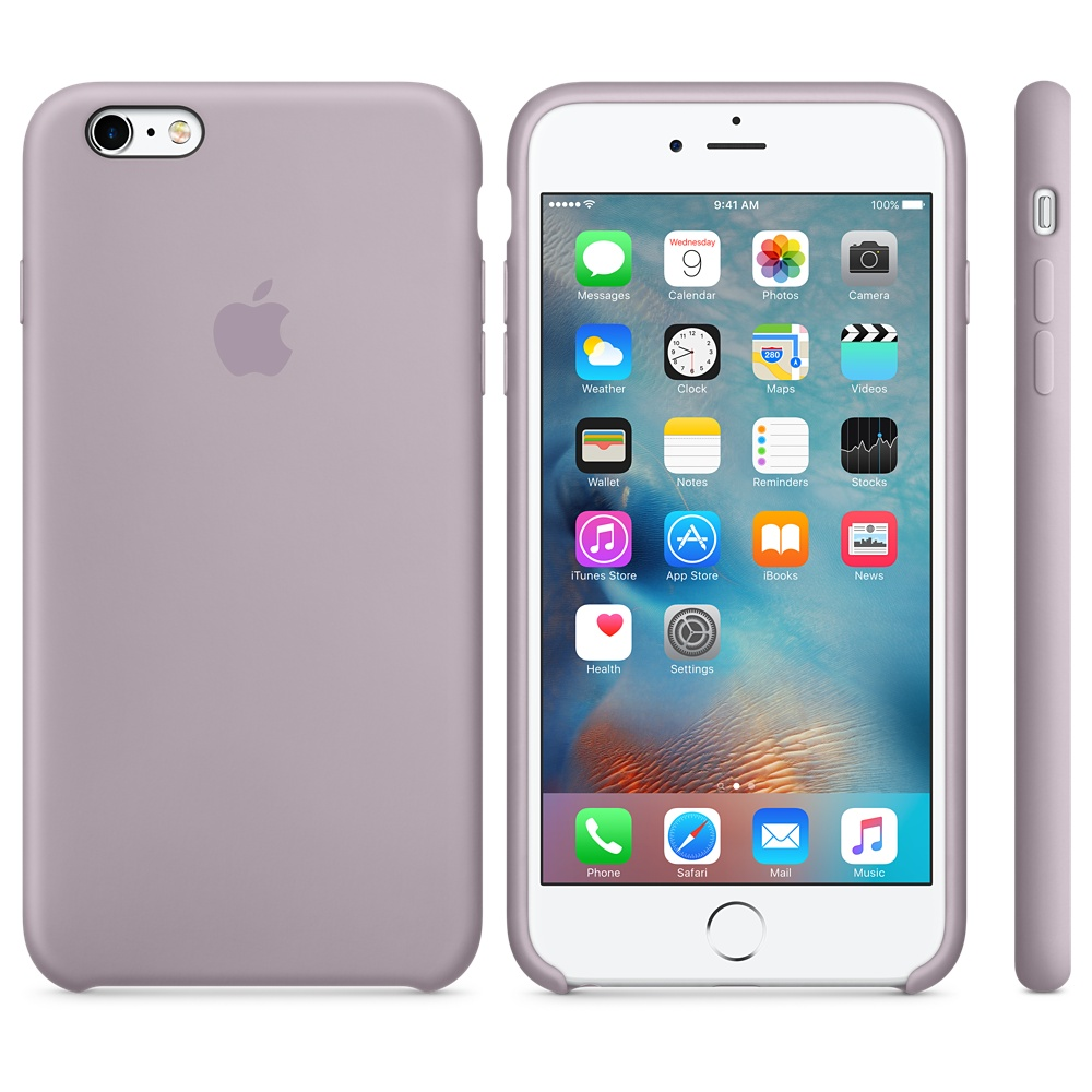 Чехол Apple Silicone Case для iPhone 5/5s/SE Lavender