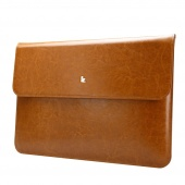 Чехол-конверт Jisoncase для Macbook Air 11 Leather Brown