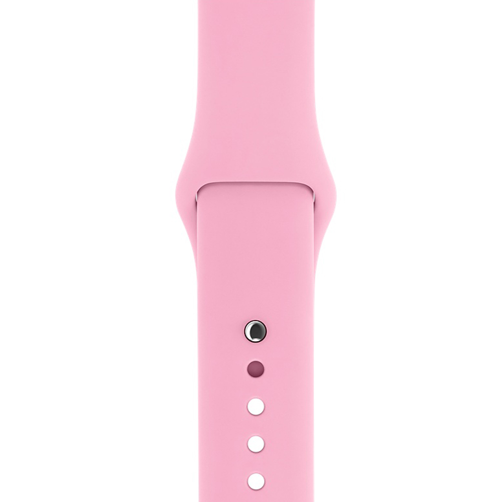 Ремешок Sport Band для Apple Watch 42mm Light Pink (M-L size)