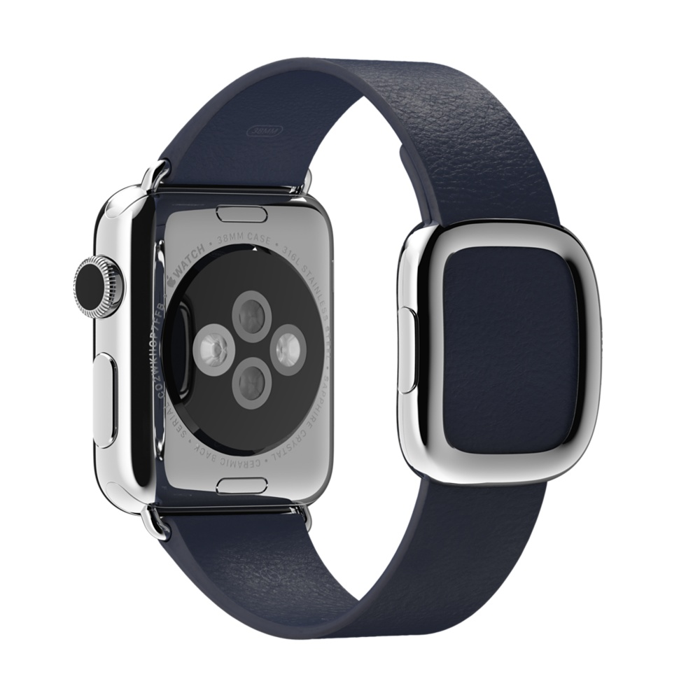Ремешок Modern Buckle Dark Blue для Apple Watch 38мм
