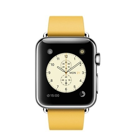 Ремешок Modern Buckle Yellow для Apple Watch 38мм