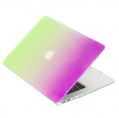 Чехол Upex Rainbow для Macbook Air 13.3 Green-Purple