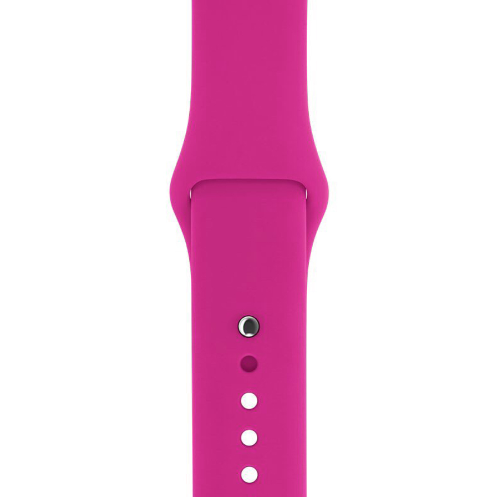 Ремешок Sport Band для Apple Watch 42mm Barbie Pink (M-L size)