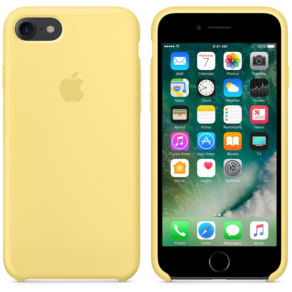 Чехол Apple Silicone Case для iPhone 7/8 Pollen OEM