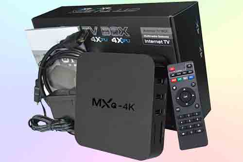 картинка Android TV BOX MXQ-4K от интернет магазина Radiovip