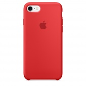 Чехол Apple Silicone Case для iPhone 7/8 Product (Red) OEM