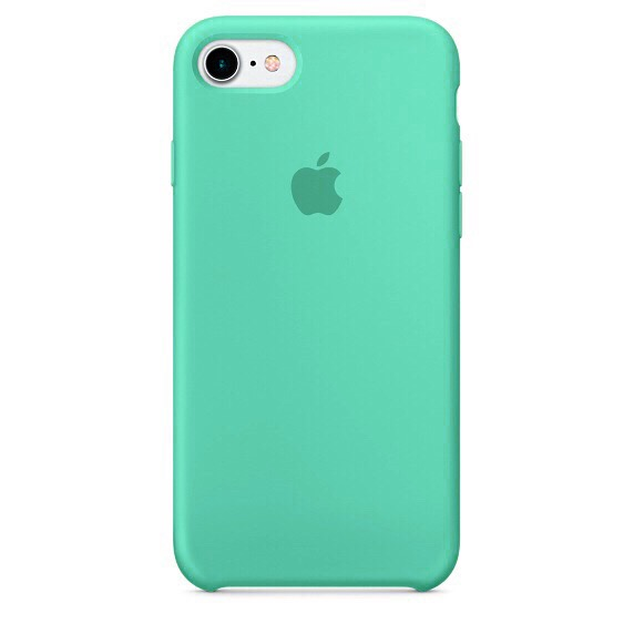 Чехол Apple Silicone case (copy) для iPhone 5/5s/SE Tiffany