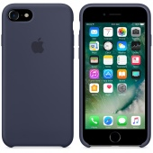 Чехол Apple Silicone Case для iPhone 7/8 Midnight Blue OEM