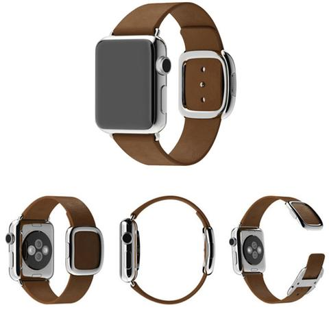 Ремешок Modern Buckle Brown для Apple Watch 38мм