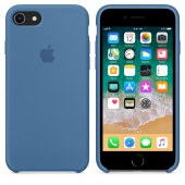 Чехол Apple Silicone Case для iPhone 7/8 Denim Blue OEM