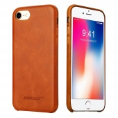 Чехол Jisoncase для iPhone 8/7 Leather Brown