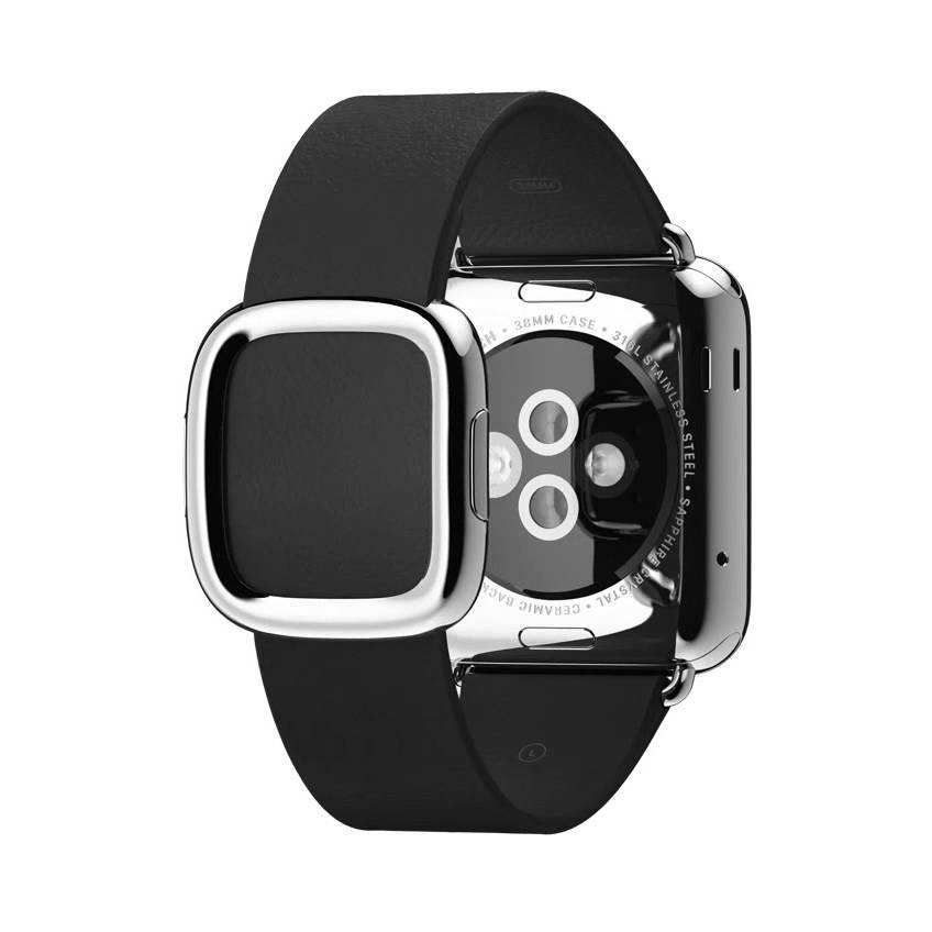 Ремешок Modern Buckle Black для Apple Watch 38мм