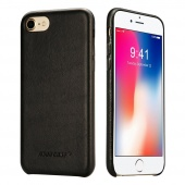 Чехол Jisoncase для iPhone 8/7 Leather Black